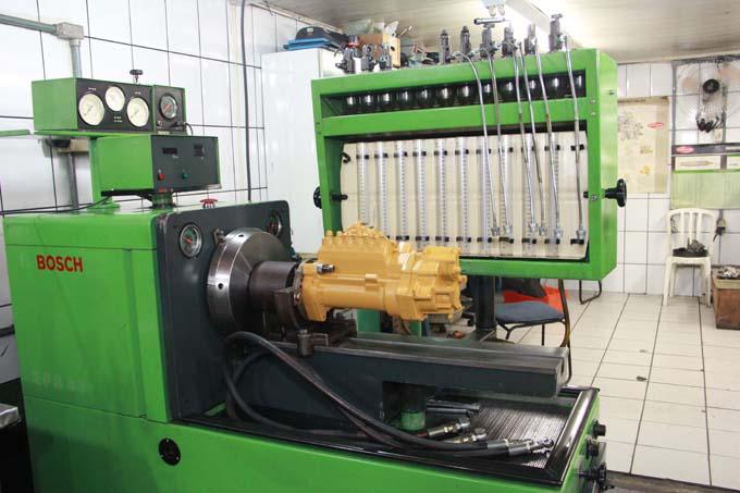 Oficina especializada e veículos diesel